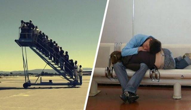 10 Momen Lucu yang Diambil Di Bandara
