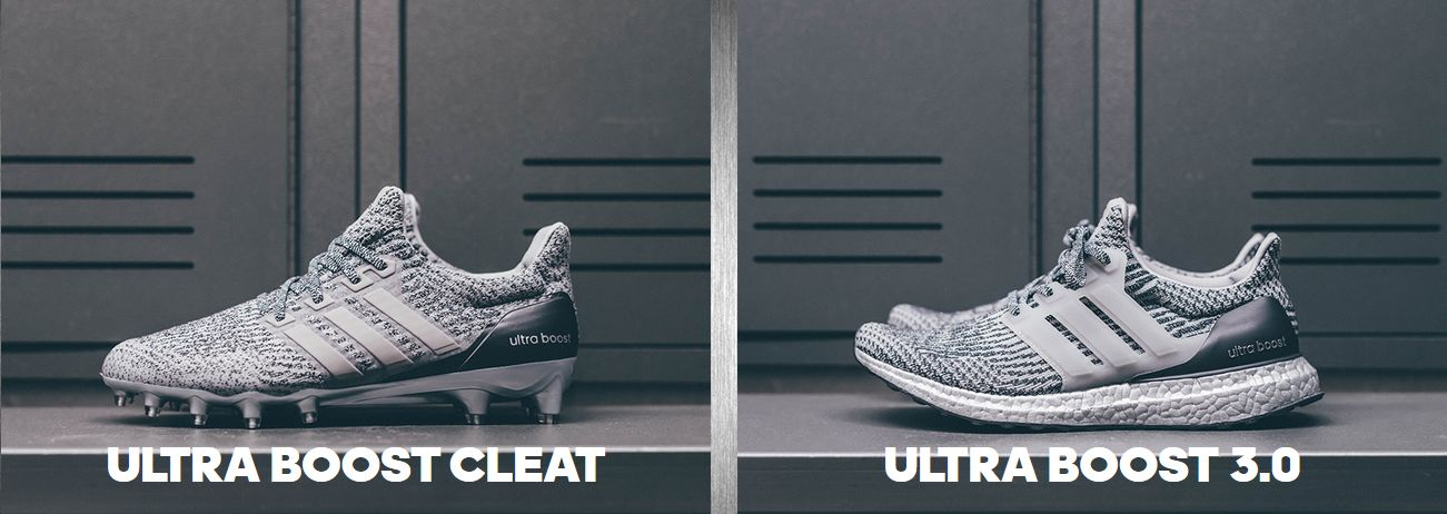 adidas ultra boost cleats silver pack