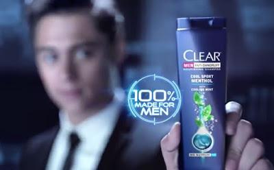 CLEAR Atasi Rambut Pria Berketombe
