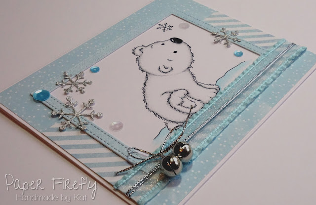 Winter card using LOTV Polar bear