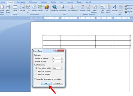 Cara Mudah Membuat Tabel di Microsoft Word