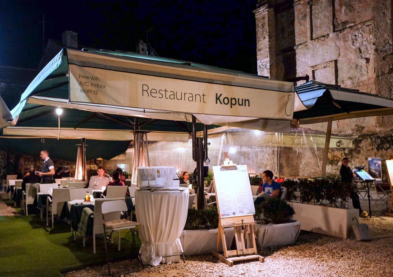 Kopun, Taverna Sirena & Taj Mahal, Dubrovnik