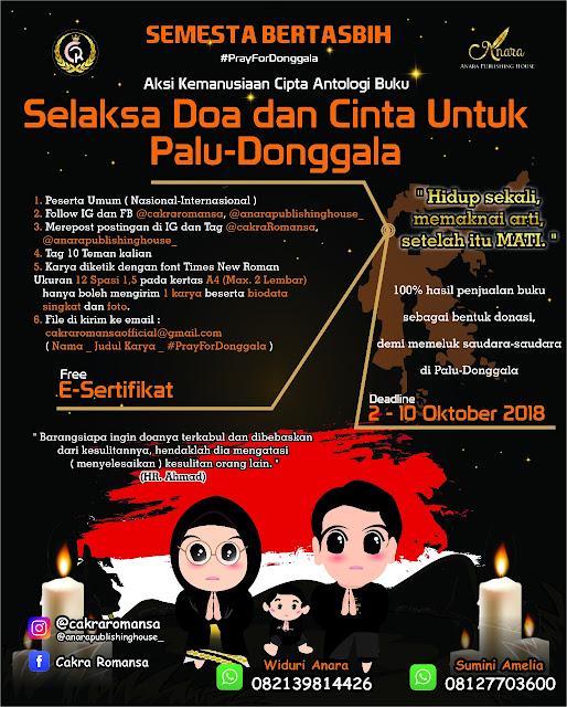 Contest Aksi Kemanusiaan Cipta Antalogi Buku 2018