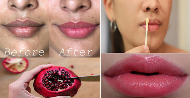 DIY – How To Lighten Darker Lips And Get Pink Lips!
