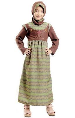 Baju anak perempuan muslim terbaru model sekarang
