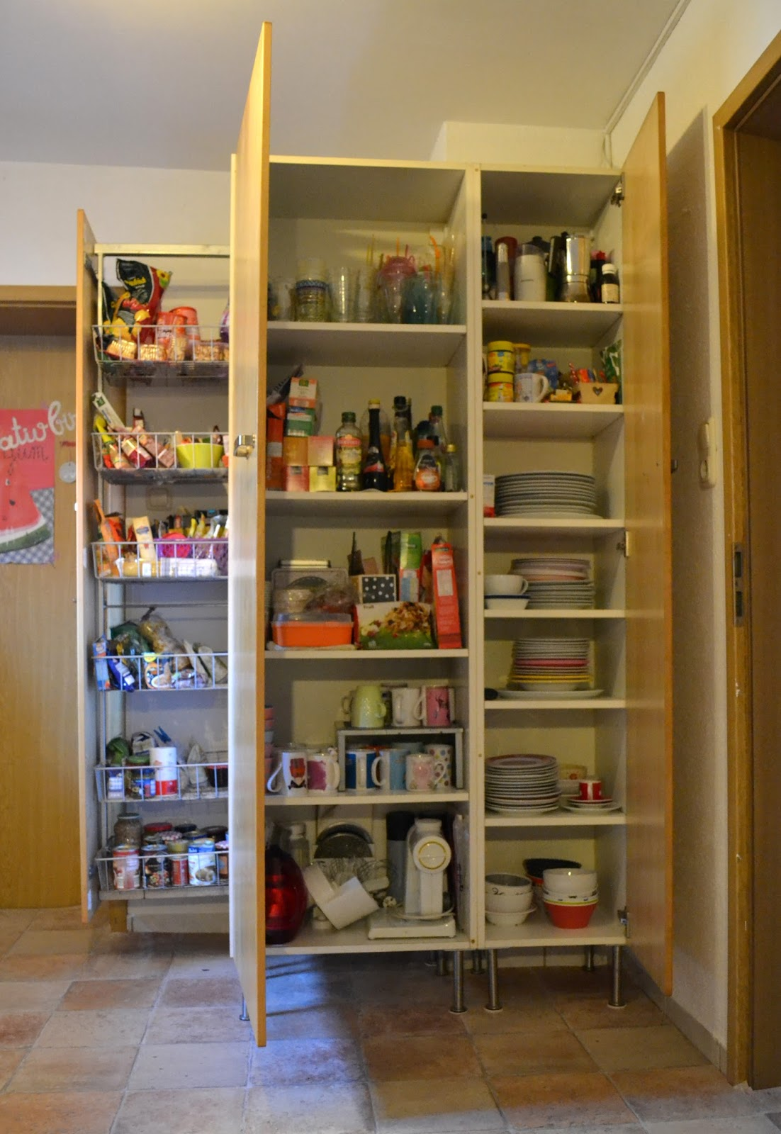 Frau Zuckerrübchen: MMI: aufgeräumte Küchenschränke