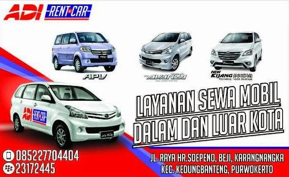 Harga Rental Mobil di Purwokerto Terbaru