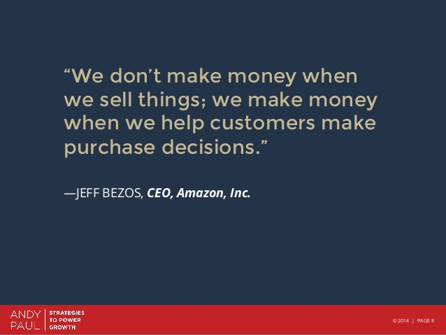 Help customers make purchase decisions