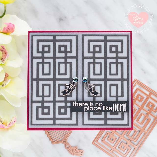 New Collections Inspiration ft. Destination China Blog Hop + Giveaway for Spellbinders by ilovedoingallthingscrafty.com