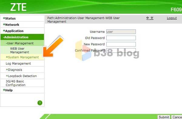 Cara Mengetahui Password Admin Modem ZTE F609