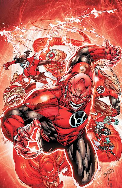 kekuatan red lantern corps