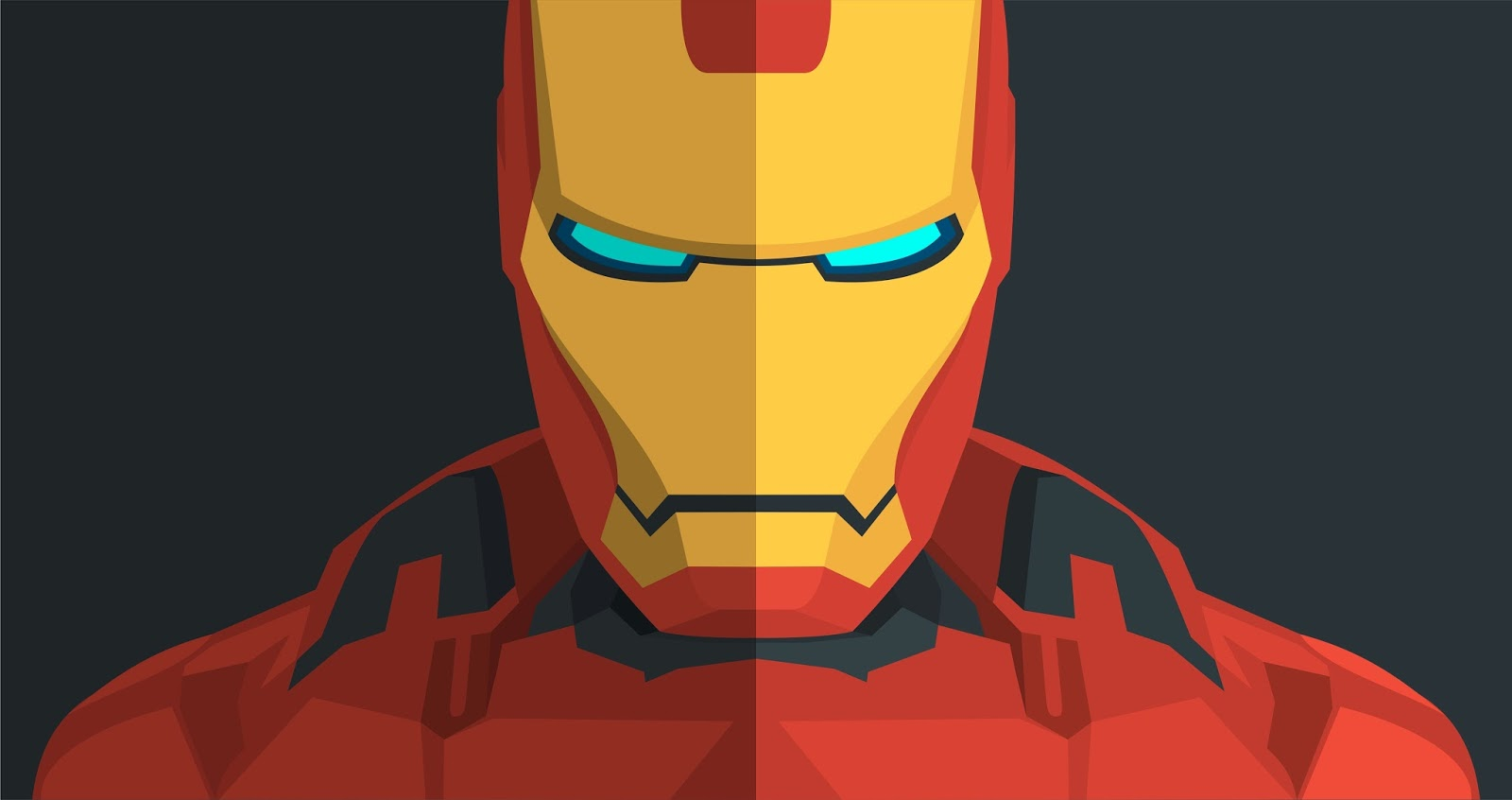Iron Man Vector Graphic Wallpaper 5k Resolution