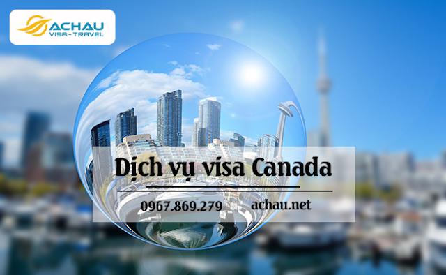 Quy trình các bước xin visa Canada