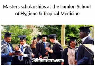 Masters in Public Health Scholarships at London School of Hygiene & Tropical Medicine, UK