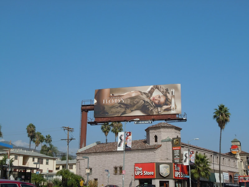 Burberry Body billboard
