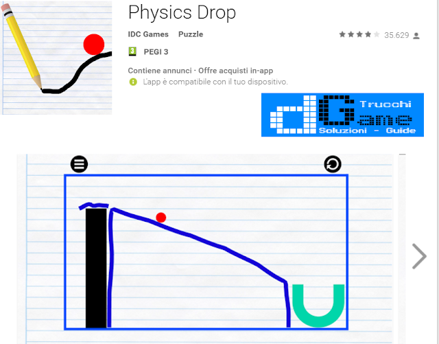 Soluzioni Physics Drop  di tutti i livelli | Walkthrough guide
