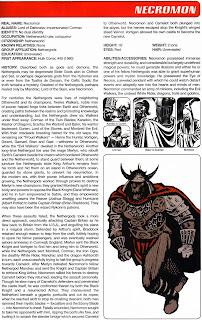 Necromon Marvel Comics