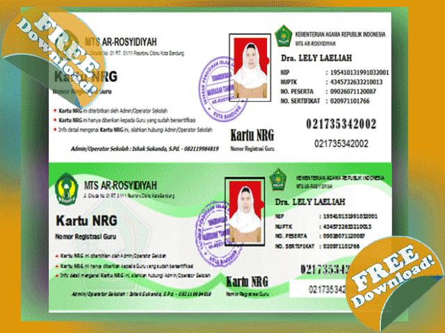 Download Aplikasi Cetak Kartu NRG Gratis Terbaru Revisi 2