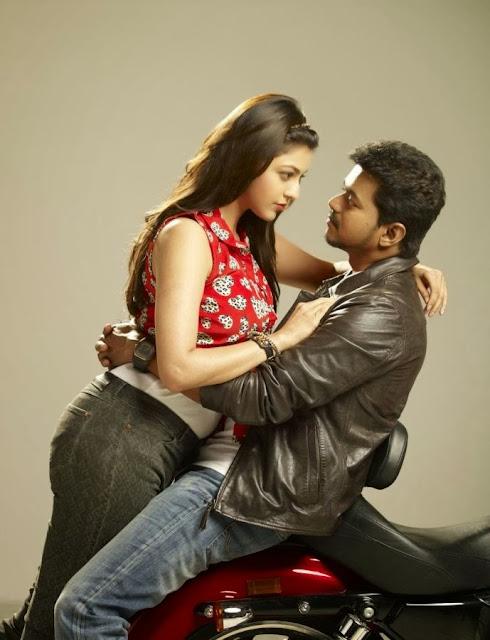 Kajal agrarwal hot pics with Vijay