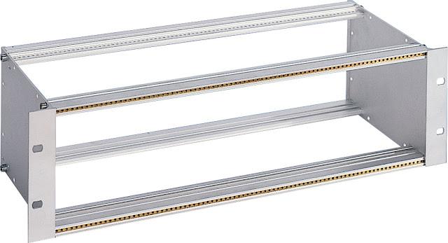 subrack porta moduli in alluminio per schede eurocard o superiori