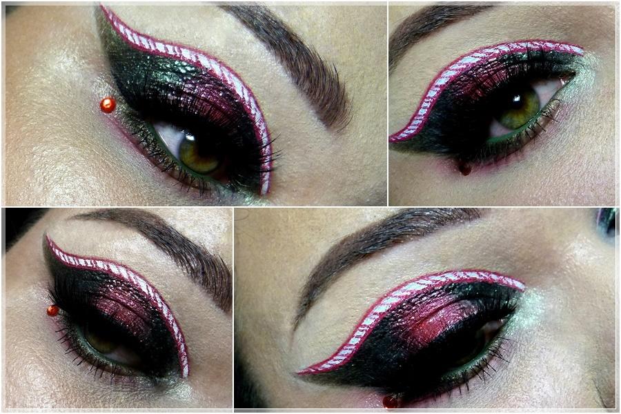 amu makeup weihnachten zuckerstange