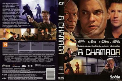 Filme A Chamada (Echelon Conspiracy) DVD Capa