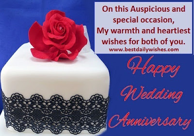 Happy Wedding Anniversary Wishes Message,