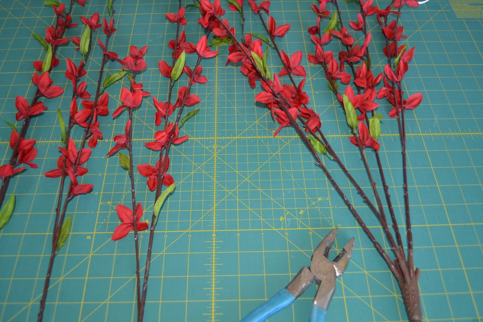 Long Stem Faux Flowers Credainatcon