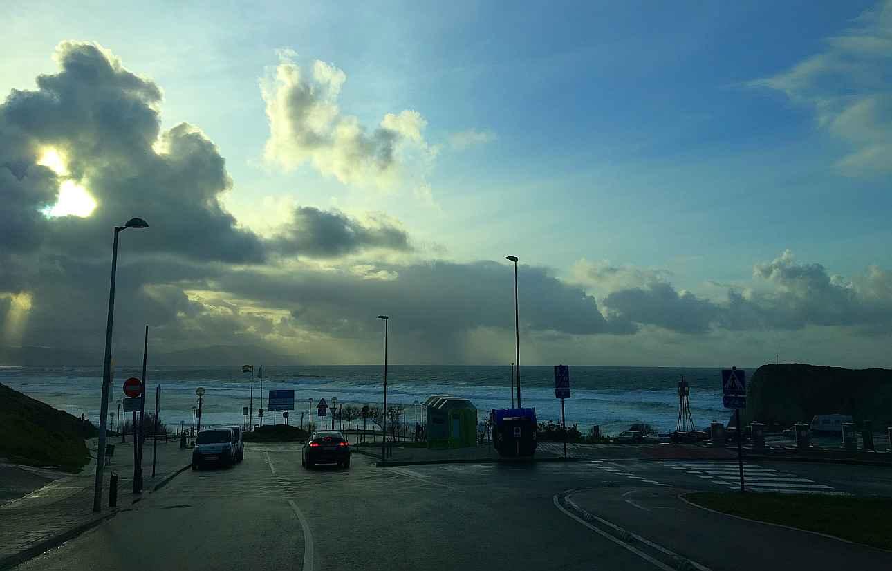 sopelana vistas mar