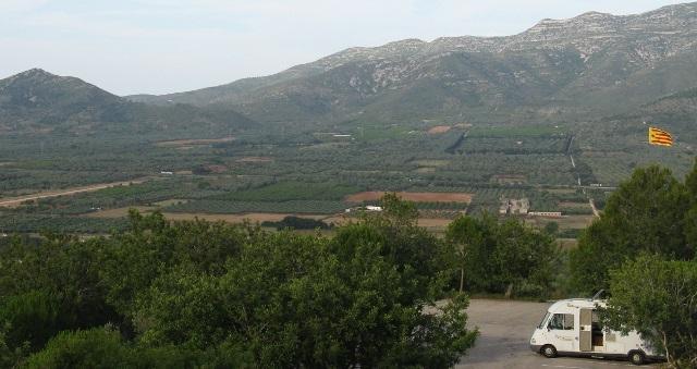 Vista del pàrquing