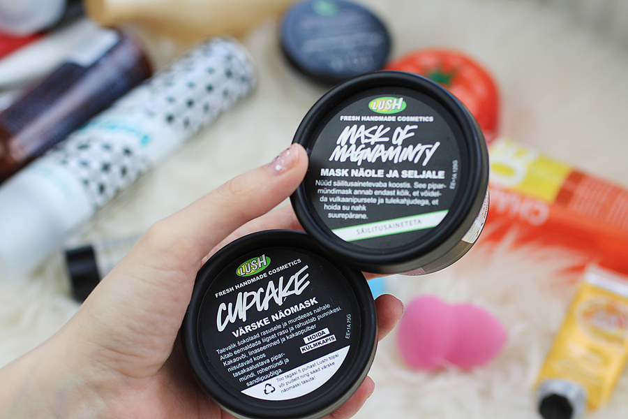 lush fresh masks