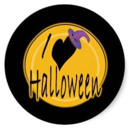 Simpático Halloween: Etiquetas, Stickers o Toppers para Imprimir Gratis.