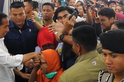 Berdasarkan Survei Interal Golkar, Elektabilitas Jokowi di atas 50 Persen