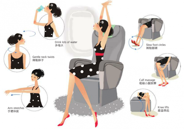 exercises for air travel