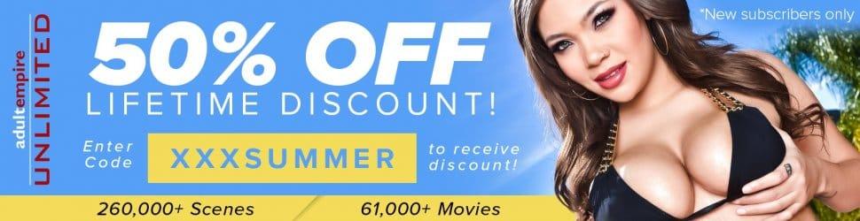 AdultEmpire Summer Promo 50% off!