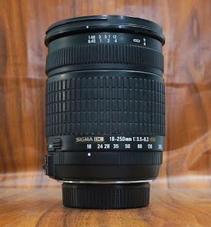 Jual Lensa Sigma 18-250mm HSM  Bekas