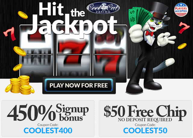 Cool Cat Casino Welcome offer