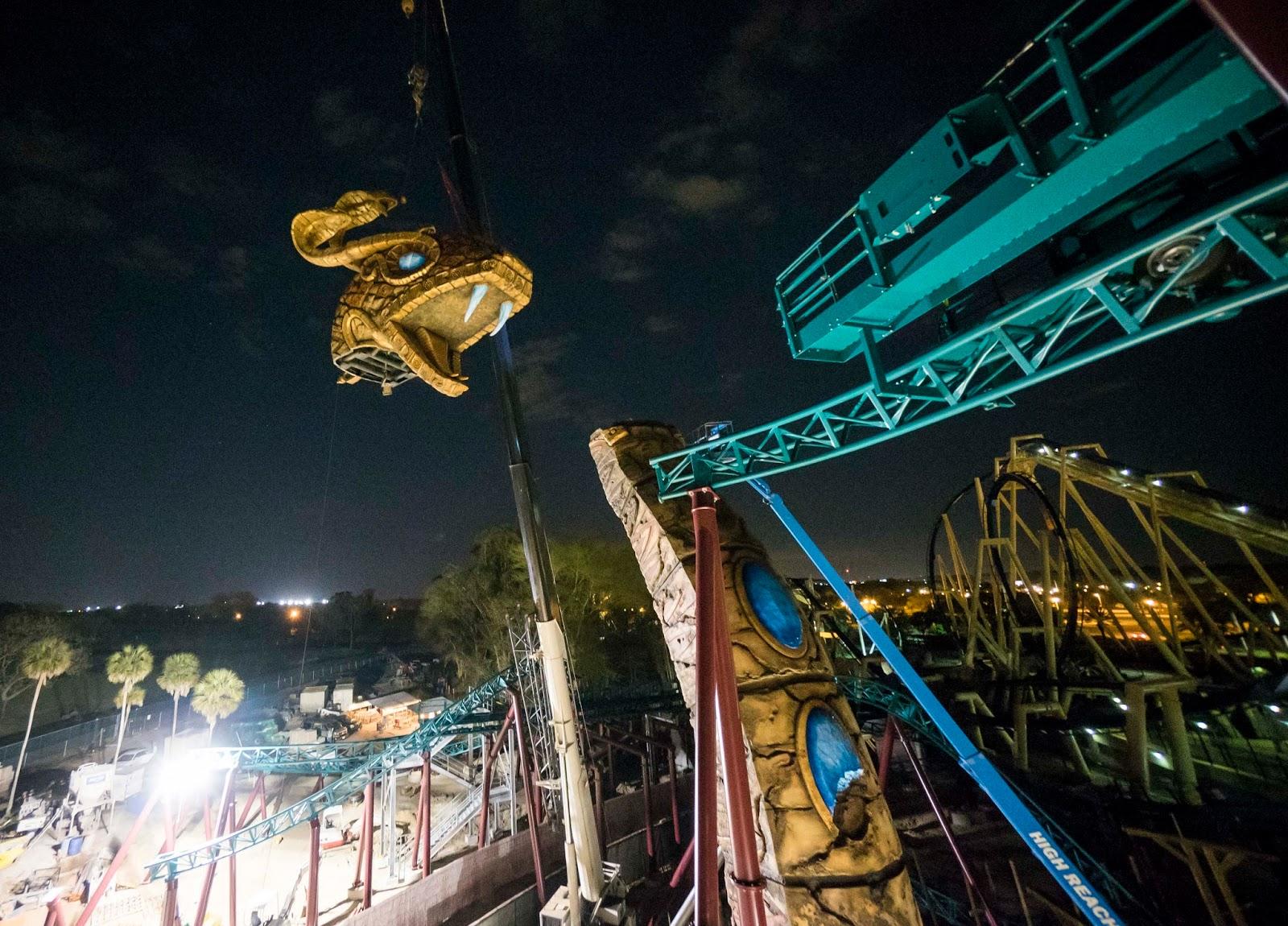 Newsplusnotes Busch Gardens Tampa Places Cobra 39 S Curse