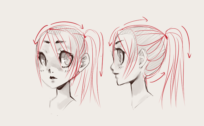 How To Draw Hair: Trichology For Illustrators