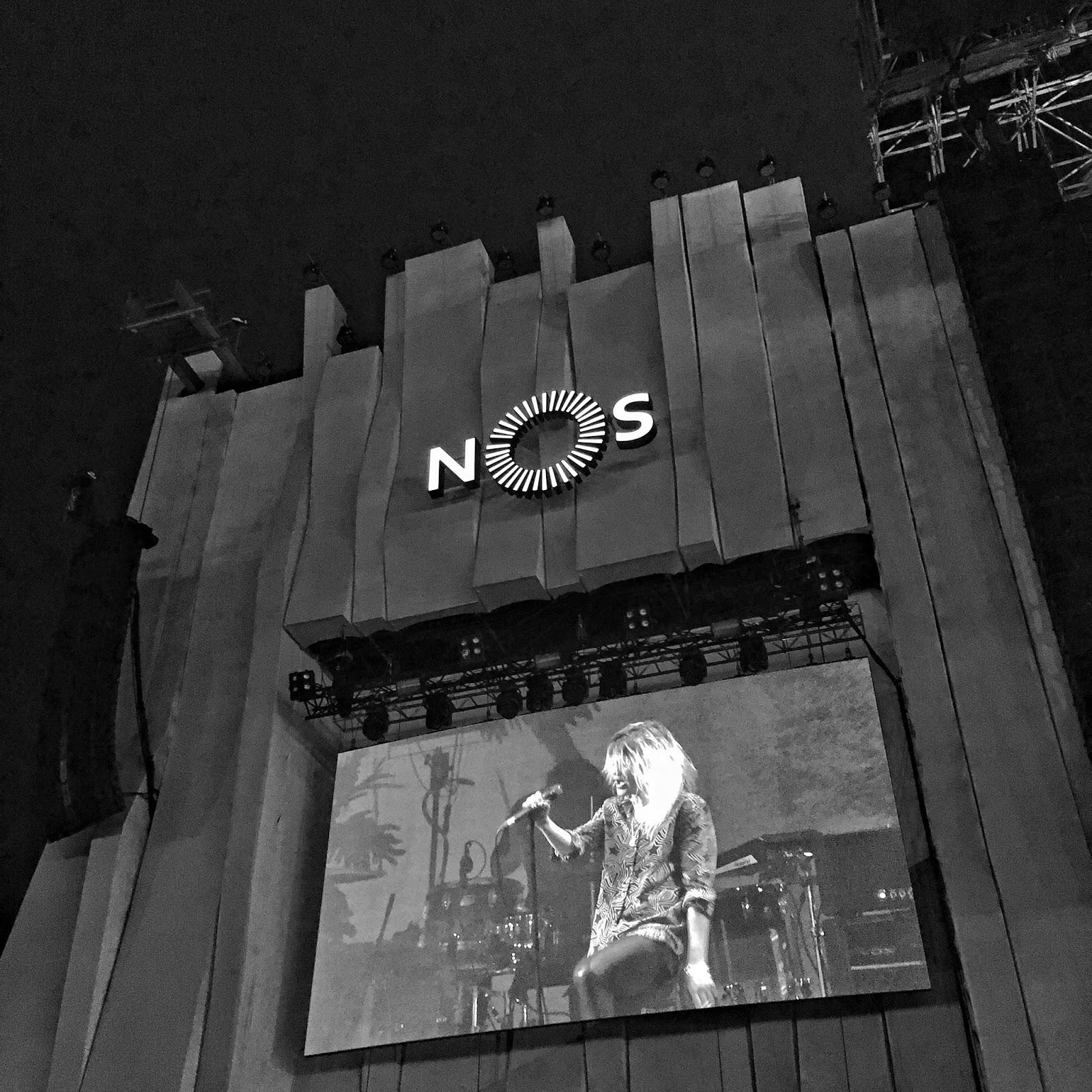 nos alive v Lisabonu, festival, ejnets, the kills