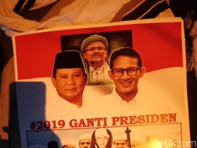Di Milad, FPI Serukan '2019 Ganti Presiden dengan Yang Tunduk Ulama'