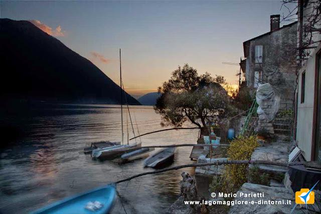 Gandria sul lago di Lugano