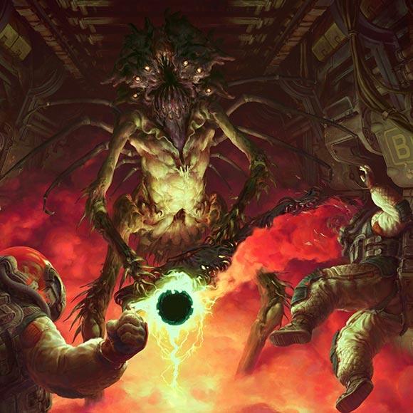 Doom Art Wallpaper Engine