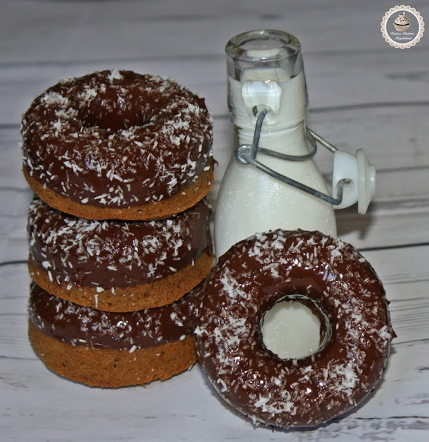 donuts-de-zanahoria-y-chocolate, chocolate-carrot-donuts
