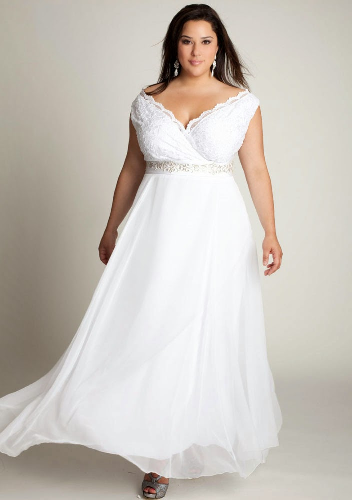 Country Western Style Plus Size Wedding Dresses Design