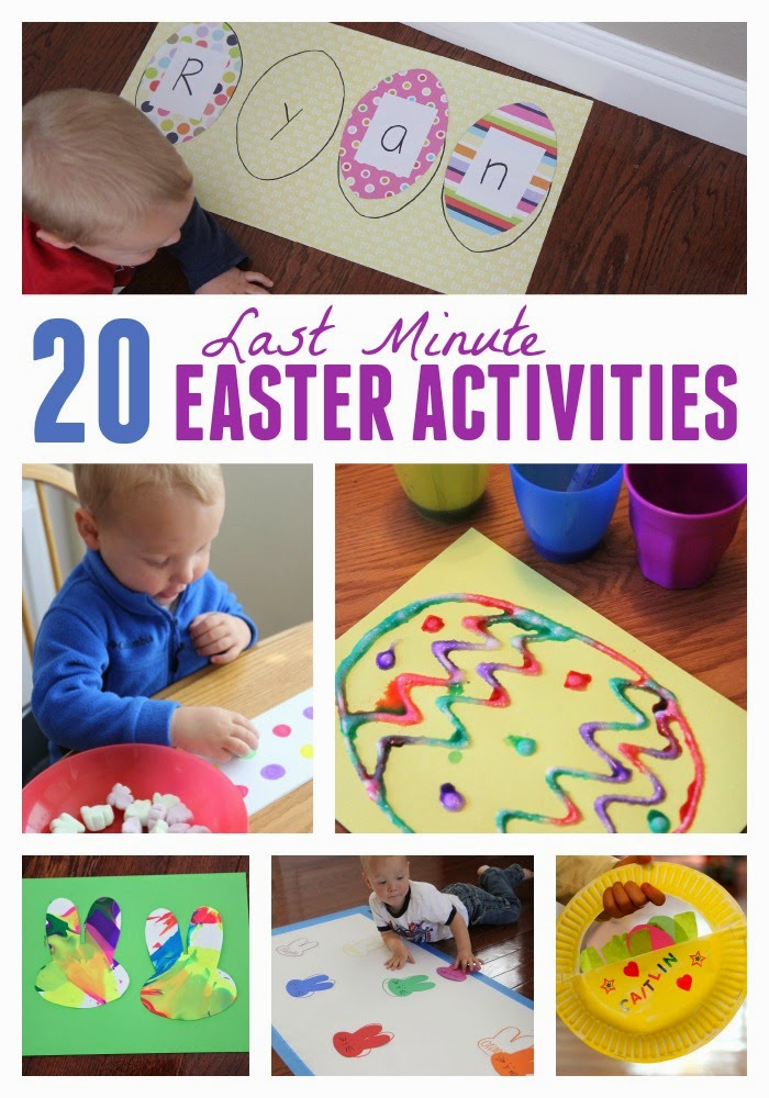 Toddler Approved!: Tape Eggs Toddler Easter Craft