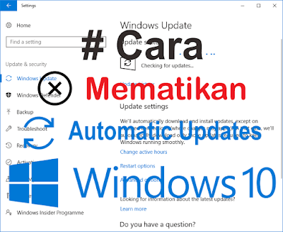 disable windows 10 automatic update assistant