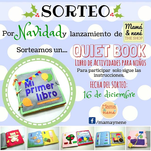 SORTEO-NAVIDAD-NIÑOS-QUIETBOOK-MAMAYNENE