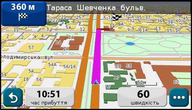 Карты НавЛюкс в программе NavLuxCE под WinCE