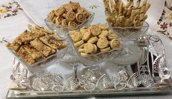 حلويات: مملحات بالزعتر